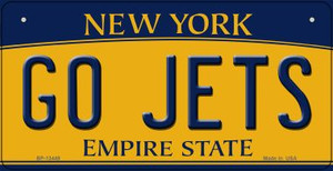 Go Jets Wholesale Novelty Metal Bicycle Plate BP-13449