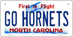 Hornets Fan Wholesale Novelty Metal Bicycle Plate BP-13469