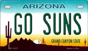Go Suns Wholesale Novelty Metal Motorcycle Plate MP-13317