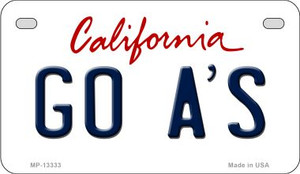 Go Athletics Wholesale Novelty Metal Motorcycle Plate MP-13333