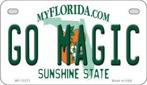Go Magic Wholesale Novelty Metal Motorcycle Plate MP-13373
