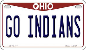 Go Indians Wholesale Novelty Metal Motorcycle Plate MP-13477