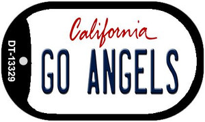 Go Angels Wholesale Novelty Metal Dog Tag Necklace DT-13329