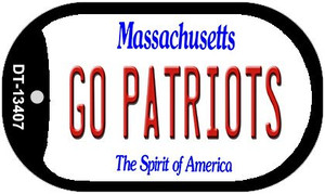 Go Patriots Wholesale Novelty Metal Dog Tag Necklace DT-13407