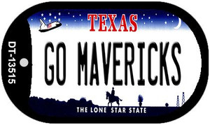 Go Mavericks Wholesale Novelty Metal Dog Tag Necklace DT-13515