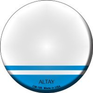 Altay Country Wholesale Novelty Metal Mini Circle Magnet CM-185