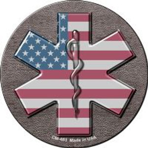 Medical Cross Wholesale Novelty Metal Mini Circle Magnet CM-483
