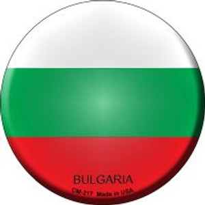 Bulgaria Country Wholesale Novelty Metal Mini Circle Magnet CM-217