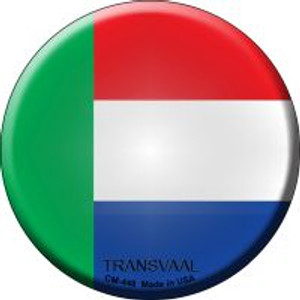 Transvaal Country Wholesale Novelty Metal Mini Circle Magnet CM-448