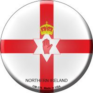 Northern Ireland Country Wholesale Novelty Metal Mini Circle Magnet CM-376