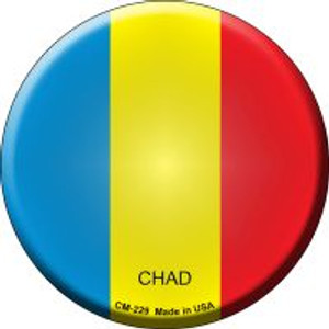 Chad Country Wholesale Novelty Metal Mini Circle Magnet CM-229