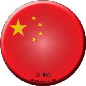 China Country Wholesale Novelty Metal Mini Circle Magnet CM-232