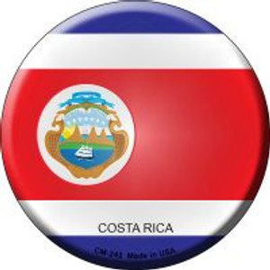 Costa Rica Country Wholesale Novelty Metal Mini Circle Magnet CM-242