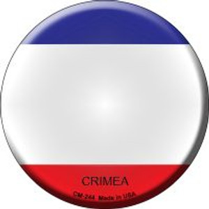 Crimea Country Wholesale Novelty Metal Mini Circle Magnet CM-244