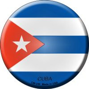 Cuba Country Wholesale Novelty Metal Mini Circle Magnet CM-246