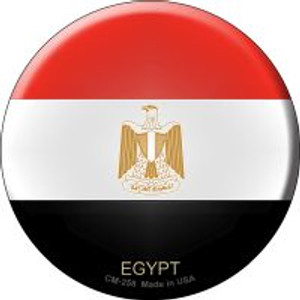 Egypt Country Wholesale Novelty Metal Mini Circle Magnet CM-258