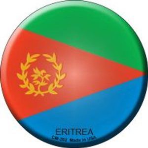 Eritrea Country Wholesale Novelty Metal Mini Circle Magnet CM-262