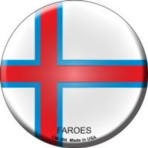 Faroes Country Wholesale Novelty Metal Mini Circle Magnet CM-266