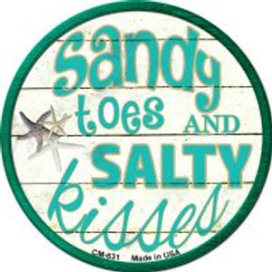 Sandy Toes Wholesale Novelty Metal Mini Circle Magnet CM-631