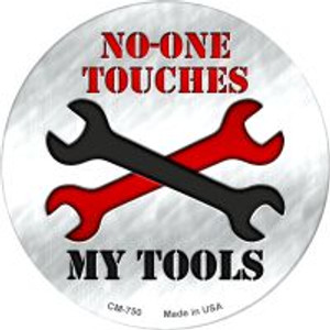 My Tools Wholesale Novelty Metal Mini Circle Magnet CM-750