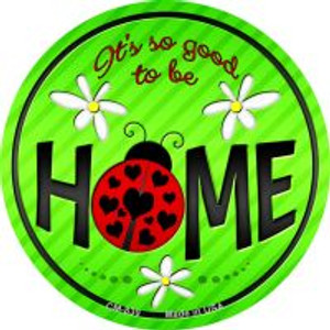 Good to be Home Wholesale Novelty Metal Mini Circle Magnet CM-839
