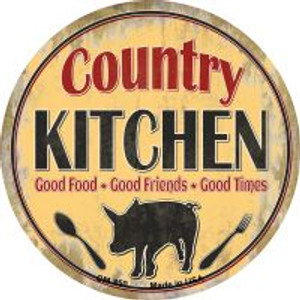 Country Kitchen Wholesale Novelty Metal Mini Circle Magnet CM-850
