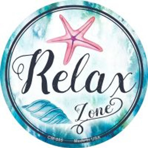 Relax Zone Wholesale Novelty Metal Mini Circle Magnet CM-885