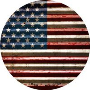 American Flag Wholesale Novelty Metal Mini Circle Magnet CM-894
