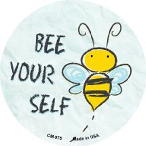 Bee Yourself Wholesale Novelty Metal Mini Circle Magnet CM-975
