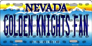 Golden Knights Fan Wholesale Novelty Metal License Plate Tag LP-13569