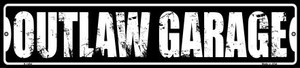Outlaw Garage Wholesale Novelty Metal Small Street Sign K-1404