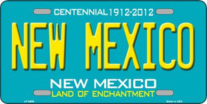 New Mexico Novelty Wholesale Metal License Plate LP-6669
