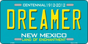 Dreamer New Mexico Novelty Wholesale Metal License Plate LP-6684