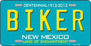 Biker New Mexico Novelty Wholesale Metal License Plate LP-6689