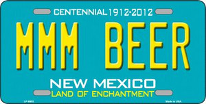 MMM Beer New Mexico Novelty Wholesale Metal License Plate LP-6693