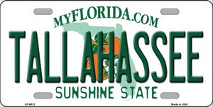 Tallahassee Florida Novelty Wholesale Metal License Plate LP-6012