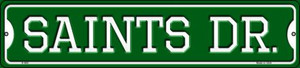 Saints Dr Wholesale Novelty Small Metal Street Sign K-969