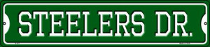 Steelers Dr Wholesale Novelty Small Metal Street Sign K-971