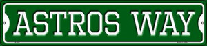 Astros Way Wholesale Novelty Small Metal Street Sign K-978