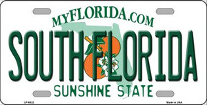 South Florida Novelty Wholesale Metal License Plate LP-6022