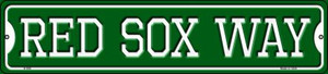 Red Sox Way Wholesale Novelty Small Metal Street Sign K-998