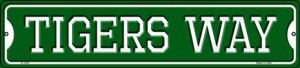 Tigers Way Wholesale Novelty Small Metal Street Sign K-1002