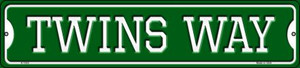 Twins Way Wholesale Novelty Small Metal Street Sign K-1003
