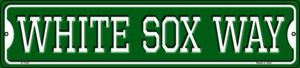 White Sox Way Wholesale Novelty Small Metal Street Sign K-1004