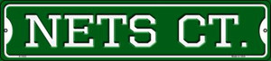Nets Ct Wholesale Novelty Small Metal Street Sign K-1023