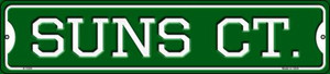 Suns Ct Wholesale Novelty Small Metal Street Sign K-1029