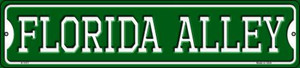 Florida Alley Wholesale Novelty Small Metal Street Sign K-1071