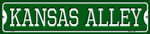 Kansas Alley Wholesale Novelty Small Metal Street Sign K-1075