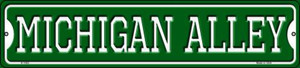 Michigan Alley Wholesale Novelty Small Metal Street Sign K-1083