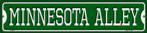 Minnesota Alley Wholesale Novelty Small Metal Street Sign K-1084
